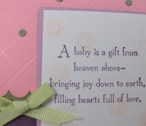 Baby is a Gift detail sm