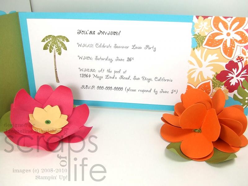 Island Floral Bigz Die Flower