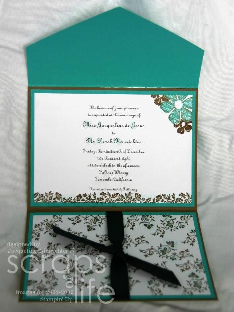 Wedwed 8 Envelope Invite Open